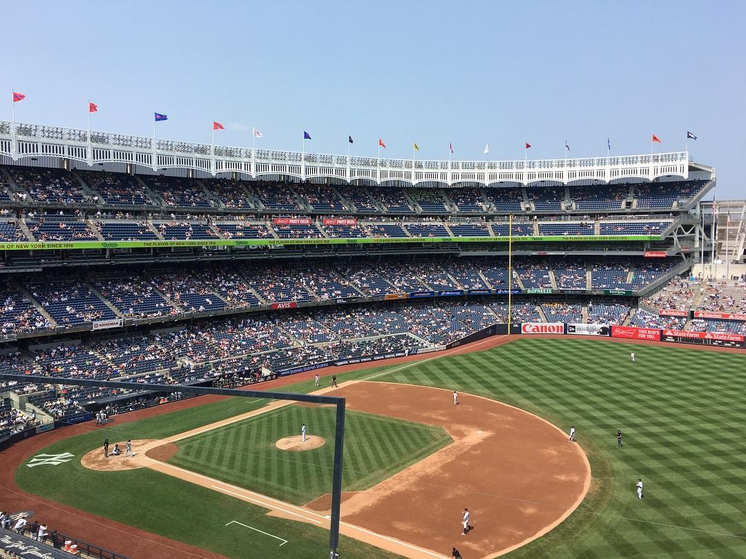 New York Yankees andana dos baixa